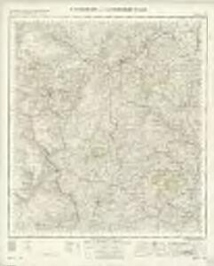 Montgomery and Llandrindod Wells - OS One-Inch Map