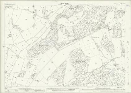 Sussex LVII.5 (includes: Ashburnham; Ninfield) - 25 Inch Map