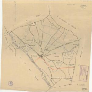 Mapa planimètric d'Albesa