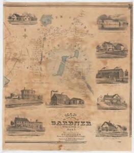 Map of the town of Gardner, Worcester Co., Mass. : from actual surveys : Eastern sheet