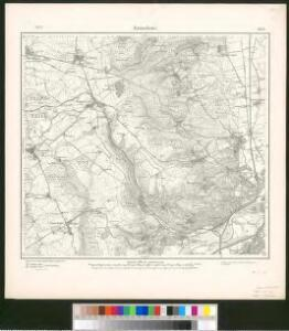 Meßtischblatt 3551 : Gravelotte, 1901