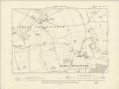 Norfolk LXXI.SE - OS Six-Inch Map