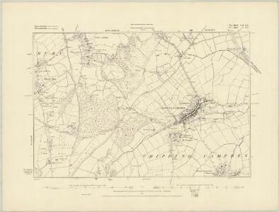 Gloucestershire VI.SE - OS Six-Inch Map