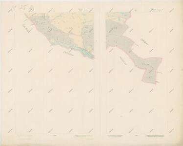 Katastrální mapa obce Rajské