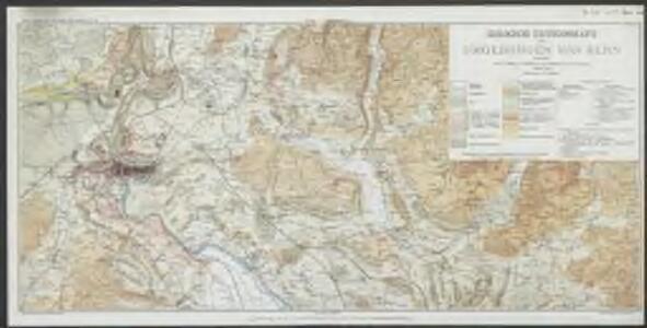 Geologische Exkursionskarte der Umgebungen von Bern