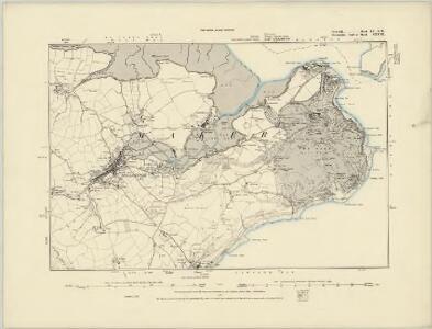 Cornwall LV.SW - OS Six-Inch Map