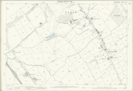 Hertfordshire XL.13 (includes: Aldenham; Ridge; Shenley) - 25 Inch Map