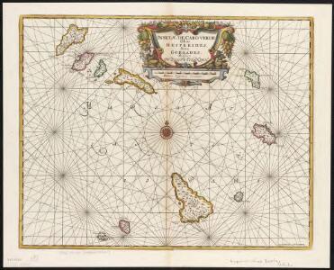 Insulae de Cabo Verde Olim Hesperides sive Gorgades: Belgice de zoute eylanden