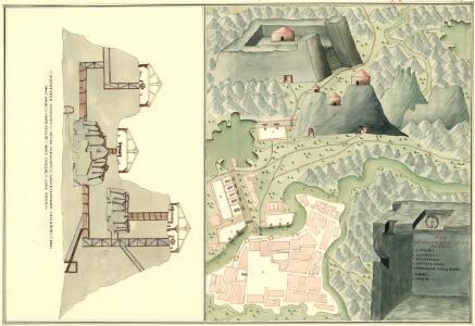 Plan des Bergwergs zu Lupkovo