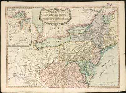 A new and general map of the middle dominions belonging to the United States of America, viz. Virginia, Maryland, the Delaware-counties, Pennsylvania, New Jersey &c. with the addition of New York & of the greatest part of New England