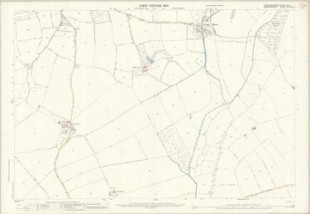 Staffordshire LXI.11 (includes: Pattingham; Rudge; Wrottesley) - 25 Inch Map