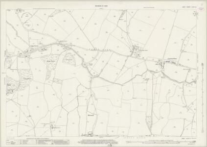 Kent LXXIII.12 (includes: Aldington; Lympne) - 25 Inch Map