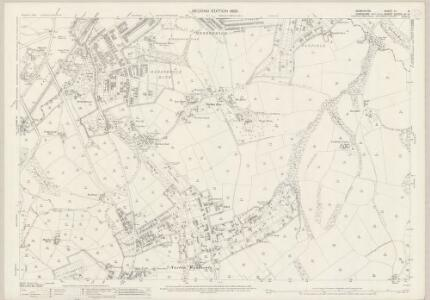 Derbyshire XII.5 (includes: Sheffield) - 25 Inch Map