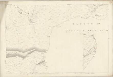 Cumberland LI.8 (inset LII.1) (includes: Alston with Garrigill) - 25 Inch Map