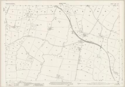 Anglesey XIII.10 (includes: Bodwrog; Heneglwys; Llangwyllog; Tregaean) - 25 Inch Map