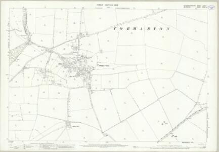 Gloucestershire LXXIII.4 (includes: Dodington; Nettleton; Tormarton) - 25 Inch Map