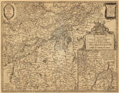 De Hertochdommen Gulick Cleve Berghe en de Graesschappen vander Marck en Ravensbergh.