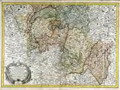 Carte de la partie méridionale du duche et gouver.t général de Bourgogne