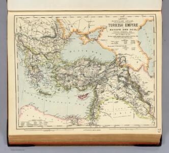 Turkish Empire, Greece, Romania.