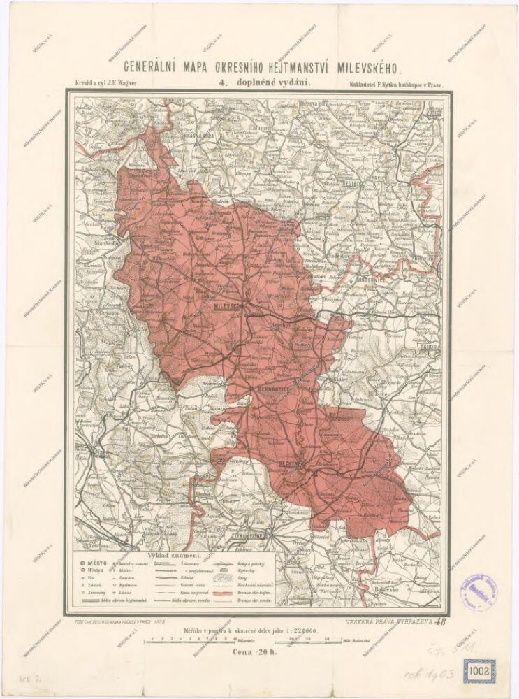 Vilimkovy Podrobne Mapy Okresnich Hejtmanstvi Okresni