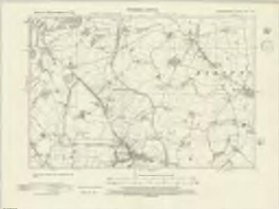 Warwickshire XX.SW - OS Six-Inch Map