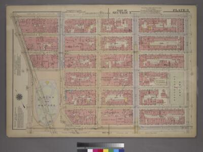 Plate 3, Part of Section 3: [Bounded by E. 20th Street, Second Avenue, E. 14th Street, Union Square and Broadway.]