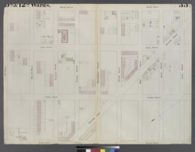 [Plate 33: Map bounded by Third Place, Smith Street, Bush Street, Clinton Street, Hamilton Avenue, Henry Street]