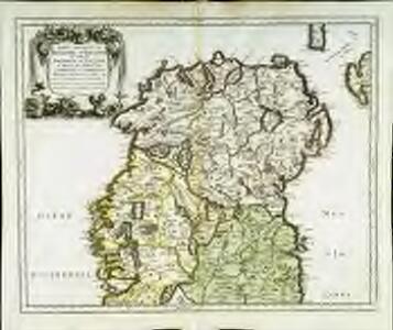 Partie septentr.le du royaume d'Irlande