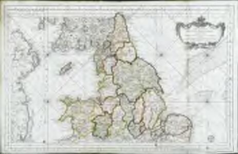 Partie septentrionale de l'Angleterre