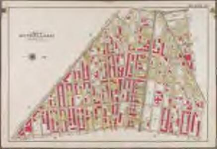 Plate 23: [Bounded by Conway Street, Norman Place, Van Sinderen Avenue, Liberty Avenue, East New York Avenue, Park Place, Saratoga Avenue and Broadway.]; Atlas of the borough of Brooklyn, city of New York: from actual surveys and official plans by George W. and Walter S. Bromley.