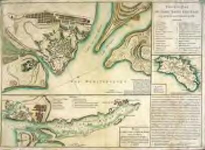 Nouveau plan du Fort Saint Philippe tel qu'il est actuellement en 1781