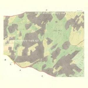 Schönwald (Schömwaldy) - m2321-6-004 - Kaiserpflichtexemplar der Landkarten des stabilen Katasters