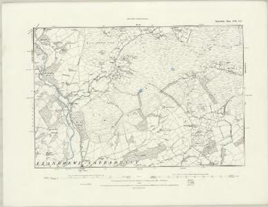Radnorshire XVI.NW - OS Six-Inch Map