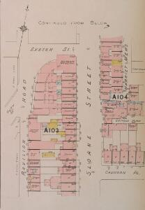 Insurance Plan of London West Vol. A: sheet 13-3