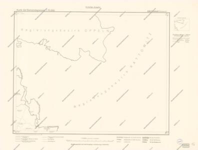 Karte des Gemeindegrenzen