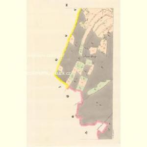 Lautsch (Lauczky) - m1619-1-002 - Kaiserpflichtexemplar der Landkarten des stabilen Katasters
