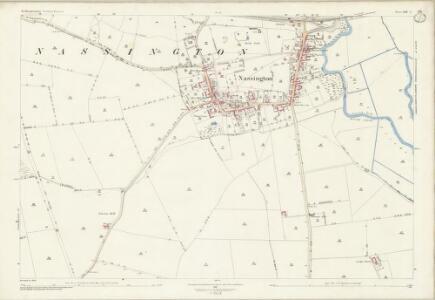 Northamptonshire XIII.2 (includes: Elton; Nassington; Woodnewton) - 25 Inch Map