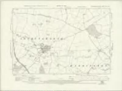 Northamptonshire XXIV.NW - OS Six-Inch Map