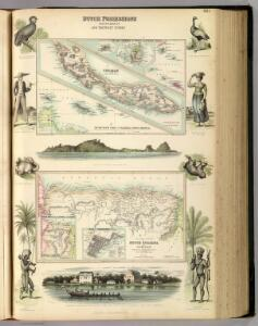 Dutch Possessions in South America and the West Indies.