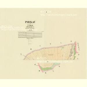 Pirkau - c0569-1-001 - Kaiserpflichtexemplar der Landkarten des stabilen Katasters