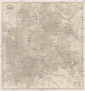 Plan der Haupt u. Rezidenz-Stadt Wien mit sämmtlichen Vorstädten