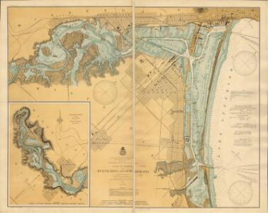 Chart of harbor at Duluth, Minn. and Superior, Wis. / prepared under the direction of Major W.L. Fisk, Corps of Engineers, U.S.A.