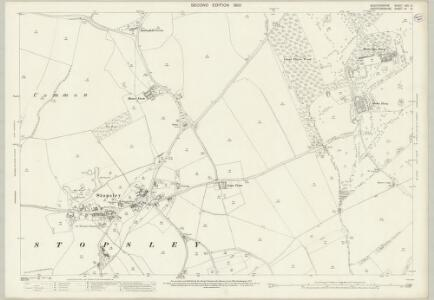 Bedfordshire XXX.14 (includes: Lilley; Luton; Offley; Streatley) - 25 Inch Map