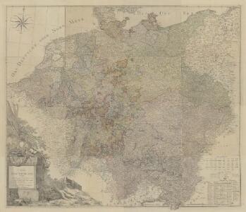 Karte von Deutschland in XVI Blätt