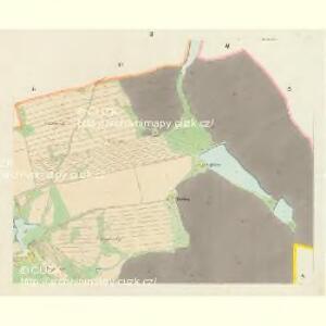Hluboka - c1893-1-002 - Kaiserpflichtexemplar der Landkarten des stabilen Katasters
