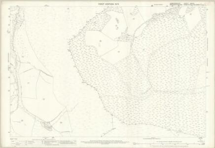 Denbighshire XXXIX.1 (includes: Corwen; Llangollen Rural; Llansanffraid Glynceiriog) - 25 Inch Map