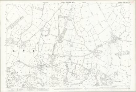 Cheshire XXXIII.10 (includes: Crowton; Cuddington; Norley) - 25 Inch Map