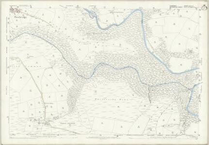 Somerset LVII.13 (includes: Dulverton; East Anstey; West Anstey; Withypool) - 25 Inch Map
