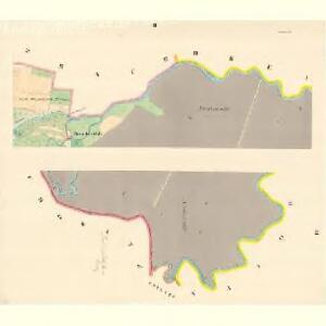 Littau (Litowel) - m1596-1-002 - Kaiserpflichtexemplar der Landkarten des stabilen Katasters