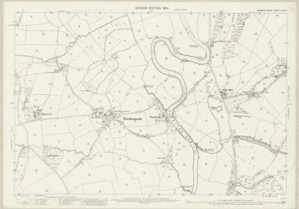 Monmouthshire XXIV.15 (includes: Llangybi Fawr; Llanhennock Fawr; Llantrisaint Fawr) - 25 Inch Map